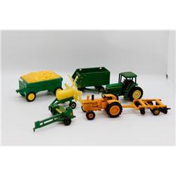 Misc. miniature John Deere toys