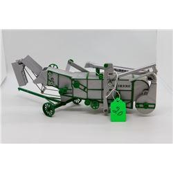 John Deere threshing machine