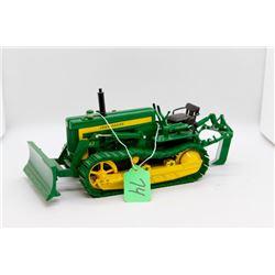John Deere 420 dozer and plow highly detailed 1:16