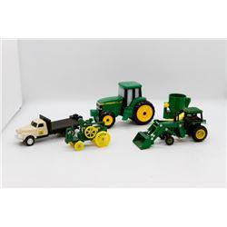 John Deere miniature toys