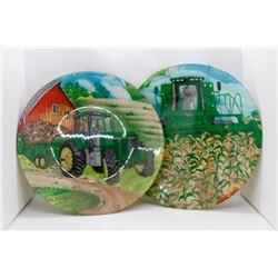 John Deere plates