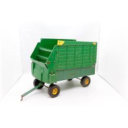 John Deere forage wagon