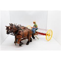 Horse drawn rake