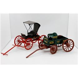 John Deere wagon and buggy