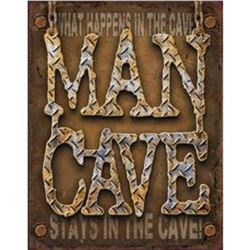 Man Cave - Diamond Plate