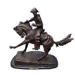 Cowboy By Frederic Remington