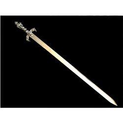 European Stainless Ritual Display Sword