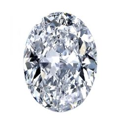 5.81 ct Oval Bianco Diamond 6aaa Loose Stones 14x10mm