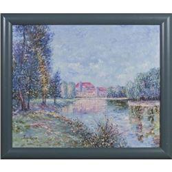 "John Roby (1920-1996, California), ""Impressionist"""