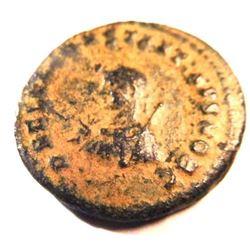 Bronze Coin of Constantius II (337-361 A.D.)