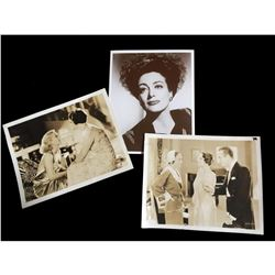 Movie Star Press Photos Set, Joan Crawford