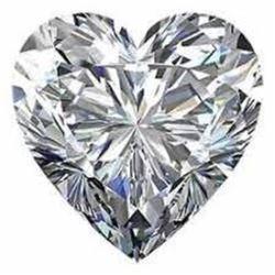 6 carat Heart Facet BIANCO Diamond