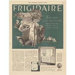 1927 Frigidaire Magazine Advertisement