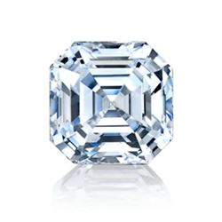 4ct Asscher Cut Bianco Diamond