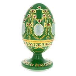 1908 Alexander Palace Royal Wooden Egg