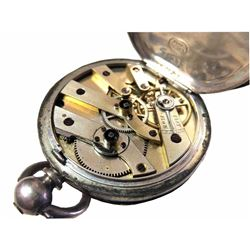 Fine Silver .99 Ladies Pocket Watch
