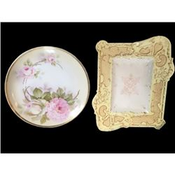 Royal Rudolstadt & Coalport Antique Plates