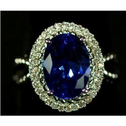 5.38 Ct. Sapphire Ring