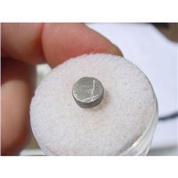 .722 gram GIBEON Iron Meteorite Disk Coin