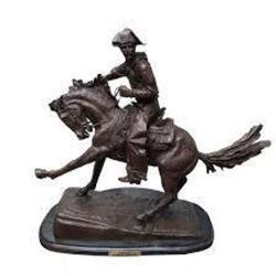 Cowboy By Frederic Remington