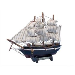 Wooden Cutty Sark Tall Model Clipper Ship 7""