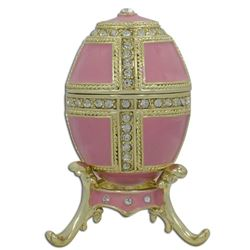 Faberge Inspired 1890 Danish Palaces Royal Russian Egg