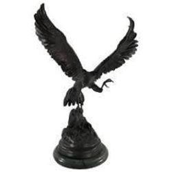 Falcon w/Gold Beak & Talons By J. Moigniez
