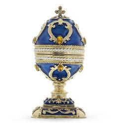 Rising Cross Green Enamel Royal Inspired Russian Egg