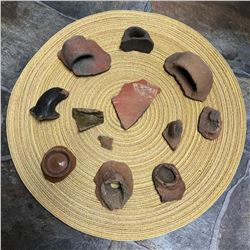Grouping of Ancient Rome & Pre-Columbian Pottery Shards