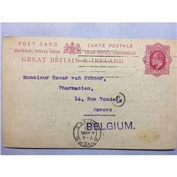 1809 London Original Postmarked Typed Envelope with
