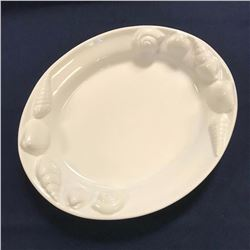 Large Ceramic Cookware, Shell Theme Seafood Platter Serving Dish