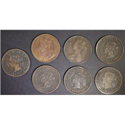 CANADIAN CENT LOT: