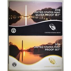 2018 CLAD & SILVER U.S. PROOF SETS