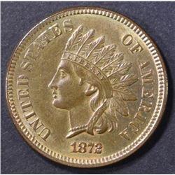 1872 INDIAN CENT  CH/GEM UNC