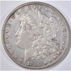 1882-CC MORGAN DOLLAR  AU/BU