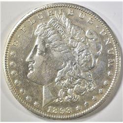 1893-CC MORGAN DOLLAR  AU