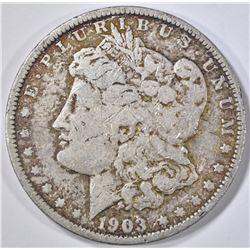 1903-O MORGAN DOLLAR  VG  SOME CONTACT MARKS