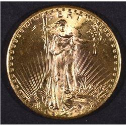 1927 $20.00 SAINT GAUDENS GOLD