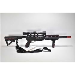 "Non-Restricted rifle Ruger model 10/22, .22 LR 10 shot semi automatic, w/ bbl length 16 1/2"" [Custom"