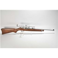 "Non-Restricted rifle Ruger model 10/22, .22 LR mag fed 10 semi automatic, w/ bbl length 18 1/2"" [Sta"