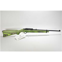Non-Restricted rifle Ruger model 100/22, .22 LR mag fed 10 shot semi automatic, w/ bbl length 18 1/2