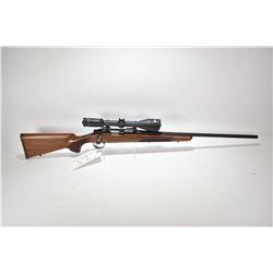 "Non-Restricted rifle Remington model 700, .222 Rem mag fed bolt action, w/ bbl length 24"" [Blued bar"