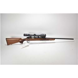 "Non-Restricted rifle Remington model 700, .222 Rem mag fed bolt action, w/ bbl length 24"" [Blued bar"