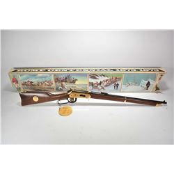 Non-Restricted rifle Winchester model RCMP Centennial, 30-30 tube fed lever action, w/ bbl length 22