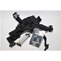 Tactical holster, Tru Glow Brite Site item no. 2G 131X fits Springfield. Ten round .40 S&W Springfie