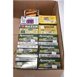 "Selection of 12 gauge shotgun ammunition including five full 25 count Remington 3"" 1700 fps plus one"