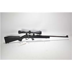 Non-Restricted rifle C.I.L. Anschutz .22 S. L & LR mag fed. 10 shot bolt action, w/ bbl length 21 1/