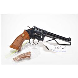 Restricted handgun Smith & Wesson model 17-4, .22 LR 6 shot double action revolver, w/ bbl length 15