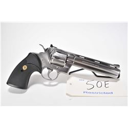 Restricted handgun Colt model Phython, .357 Magnum 6 shot double action revolver, w/ bbl length 152m