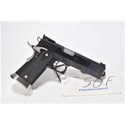 Restricted handgun StI model 2011 Edge, 9mm Luger 10 shot semi automatic, w/ bbl length 127mm [Blued